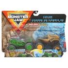 Monster Jam: Grave Digger és Earth Shaker színváltós kisautók