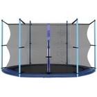 Spartan: Plasă de protecție pentru trambuline de 305 cm - 3 picioare și 6 stâlpi