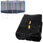 Spartan: Plasă protecție pentru trambulină de 487 cm - 5 picioare, 10 stâlpi