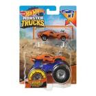 Hot Wheels Monster Trucks: Set de mașinuțe Rodger Dodger