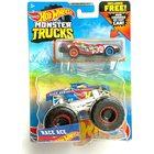 Hot Wheels Monster Trucks: HW Race Ace kisautó szett