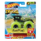 Hot Wheels Monster Trucks: Loco Punk kisautó - zöld