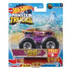Hot Wheels Monster Truck: Mașinuța Rodger Dodger - violet-auriu