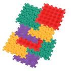 Ortho Puzzle: Ortopédiai masszázs szőnyeg szett, 8 darabos - Szavanna