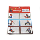 Super Mario: etichete caiete - 18 buc.