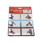 Super Mario: füzetcímke - 18 darabos