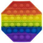 Pop it Now! Push Pop Bubble szivárvány stresszoldó játék - nyolcszög