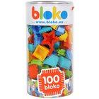 Bloko: Tüskés építőjáték hengerben, 100 db-os