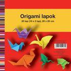 Herlitz: Hârtie Origami 20x20 cm, 20 coli