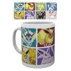 Pokémon: Cană ceramică cu model Eevee Evolution - 320 ml