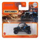 Matchbox MBX Jungle: Polaris RZR kisautó - fekete - kék