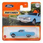 Matchbox : 1961 Ford Ranchero kisautó - világoskék