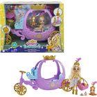 EnchanTimals: Caleașcă regală cu păpușa Peola Pony și figurină Petite