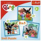 Trefl: Bing 3 az 1-ben puzzle - CSOMAGOLÁSSÉRÜLT