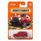 Matchbox: Mașinuță 2019 Jeep Renegade - roșu