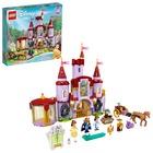 LEGO Disney Princess: Castelul lui Belle și al Bestiei - 43196