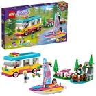 LEGO Friends: Erdei lakóautó és vitorlás 41681