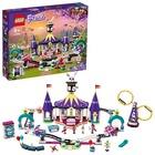 LEGO Friends: Montagne russe magic în parcul de distracții - 41685
