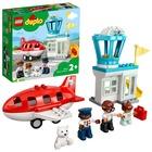 LEGO DUPLO Town: Repülőgép és repülőtér 10961