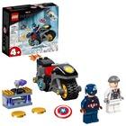 LEGO Super Heroes: Amerika Kapitány és Hydra szemtől szembe 76189