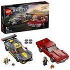 LEGO Speed Champions: Mașină de curse Chevrolet Corvette C8.R și 1968 Chevrolet Corvette - 76903