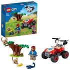 LEGO City Wildlife: ATV de salvare a animalelor sălbatice - 60300