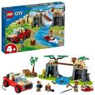 LEGO City Wildlife: Mașină de teren pentru salvarea animalelor sălbatice - 60301