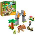 LEGO DUPLO Jurassic World: Evadarea dinozurilor T. rex și Triceratops - 10939