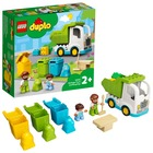 LEGO DUPLO Town: Autogunoieră și reciclare - 10945