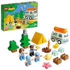 LEGO DUPLO Town: Aventură cu rulota de vacanță a familiei - 10946