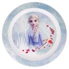 Frozen 2: Farfurie plată din plastic, compatibil cu microunde