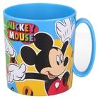 Mickey egér: Mintás, mikrózható műanyag bögre, 350 ml
