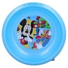 Mickey egér: Mintás, műanyag mélytányér