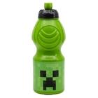 Minecraft: Mintás, műanyag kulacs, 4 dl