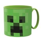 Minecraft: Cană din plastic, compatibil cu microunde - 265 ml