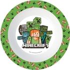 Minecraft: Farfurie adâncă din plastic, compatibil cu microunde
