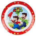 Super Mario: Farfurie plată din plastic, compatibil cu microunde