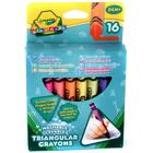 Crayola Mini Kids: Háromszög tömzsi viaszkréták - 16 db - CSOMAGOLÁSSÉRÜLT