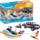 Playmobil: Camion cu barcă de viteză - 70534