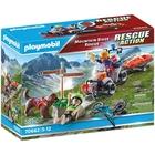 Playmobil: Salvator montan cu ATV - 70662