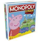 Monopoly Junior: Peppa Pig - joc de societate în lb. maghiară