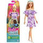 Barbie Loves the Ocean: Păpușă Malibu - Barbie cu păr blond