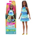 Barbie Loves the Ocean: 50. évfordulós Malibu baba - barna bőrű Barbie