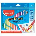 MAPED: Color Peps Twist kitekerhető zsírkréta - 12 db