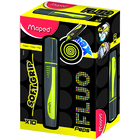 MAPED: Fluo Peps Max szövegkiemelő, 1-5 mm - sárga