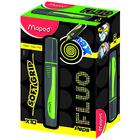 MAPED: Fluo Peps Max szövegkiemelő, 1-5 mm - zöld
