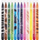 MAPED: Color'Peps Animals - kimosható filctoll készlet, 12 db-os