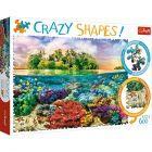 Trefl: Crazy Shapes - 600 darabos puzzle - CSOMAGOLÁSSÉRÜLT