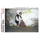 Piatnik: Banksy - Menajera puzzle cu 1000 de piese
