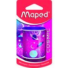 MAPED: Cosmic kétlyukú, tartályos hegyező - rózsaszín